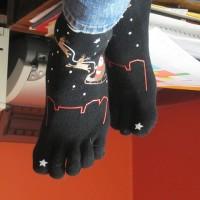 オリジナル靴下のプリント方法の種類