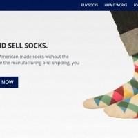 オリジナル靴下を自分でデザイン・販売できる『Knitout』